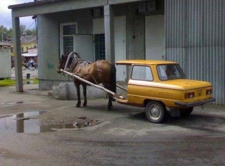 Тюнингованный запорожец :)